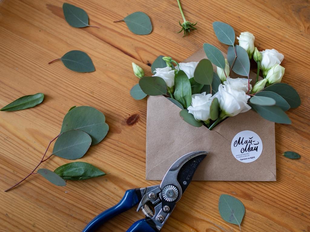 Букет-письмо На ВДНХ в день всех влюбленных