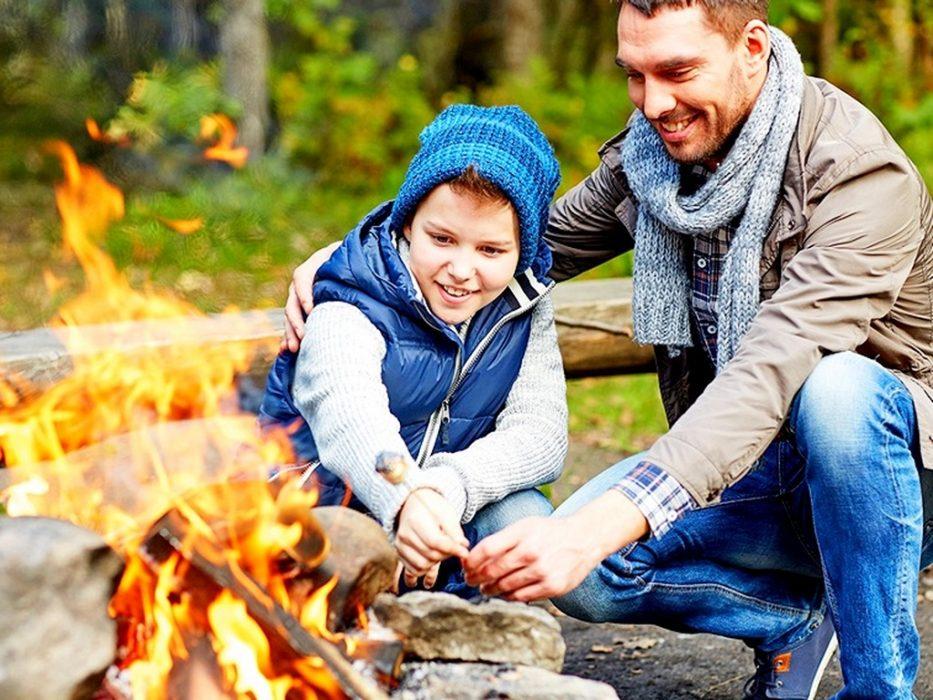 Семейный поход на весенних каникулах