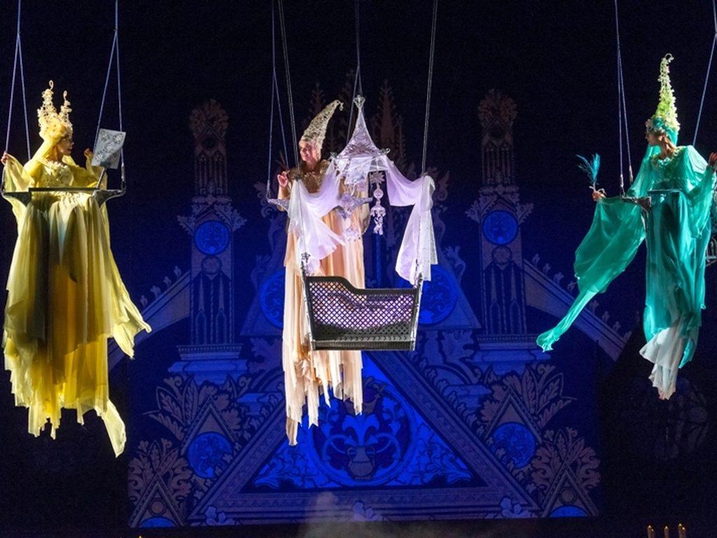 Спектакль Спящая красавица  театрариум