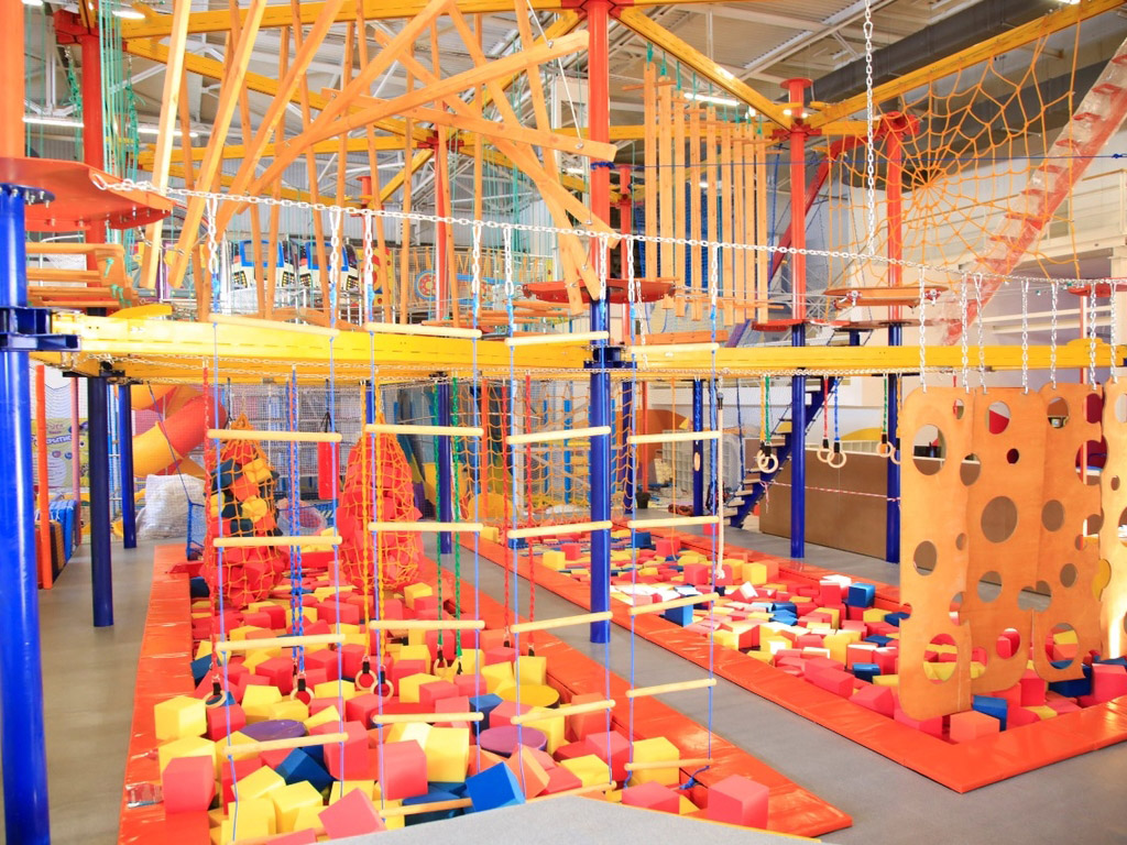 Афиша для детей: Активные выходные в парках «НЕБО»