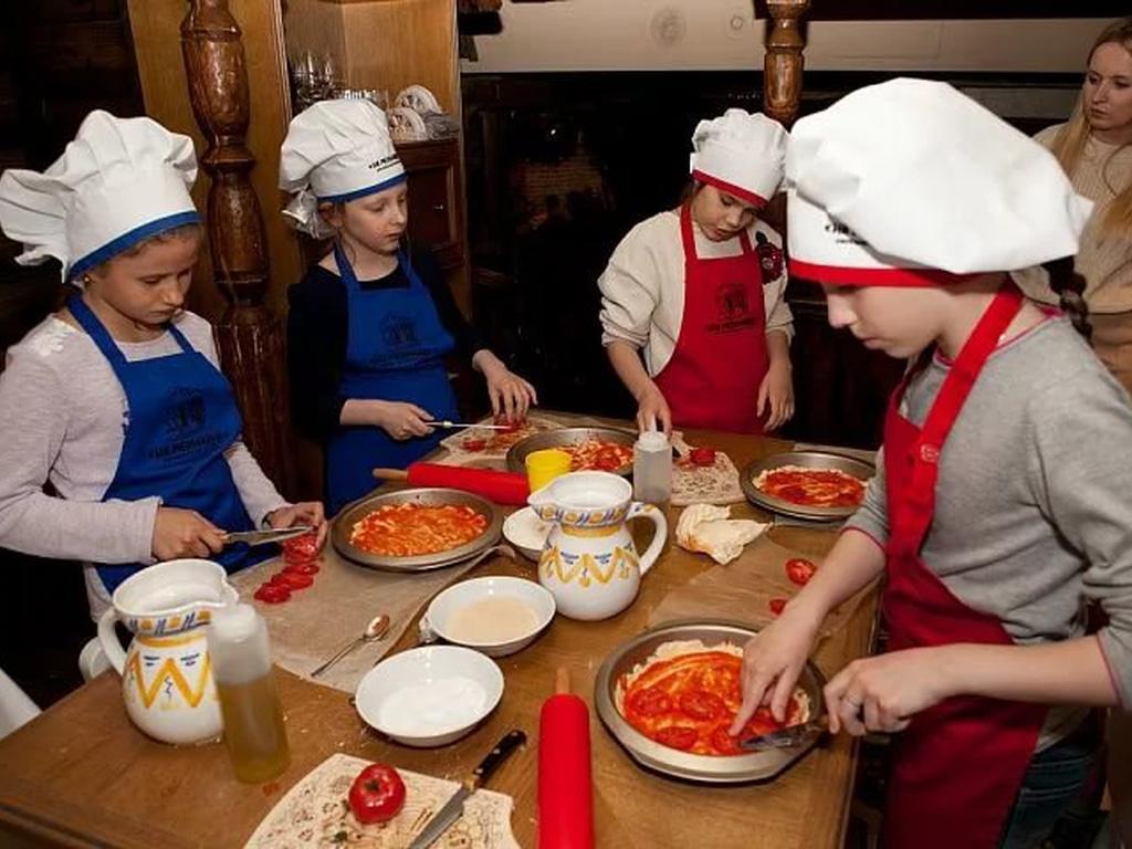Афиша для детей: Детские кулинарные мастер-классы