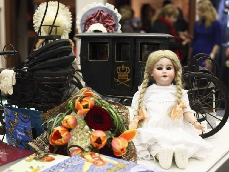 Международный салон авторских кукол