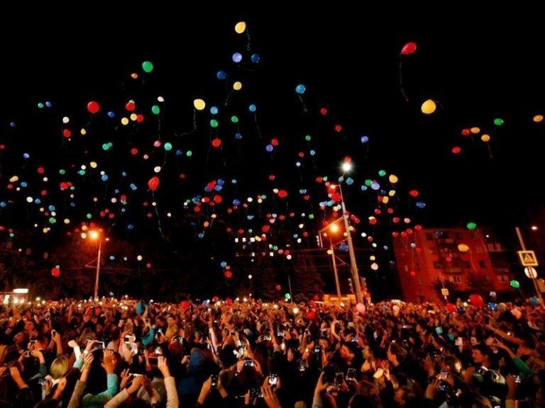 Весенний фестиваль светошариков Мечта Близко