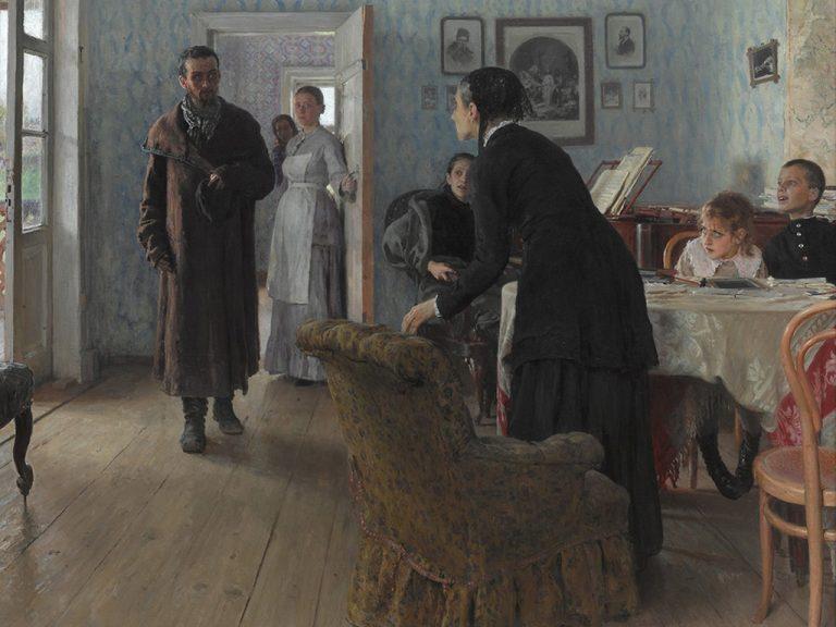 Выставка Илья Репин в Третьяковке - афиша