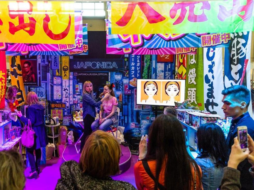 Мастер-классы монохромная живопись на Hinode Power Japan