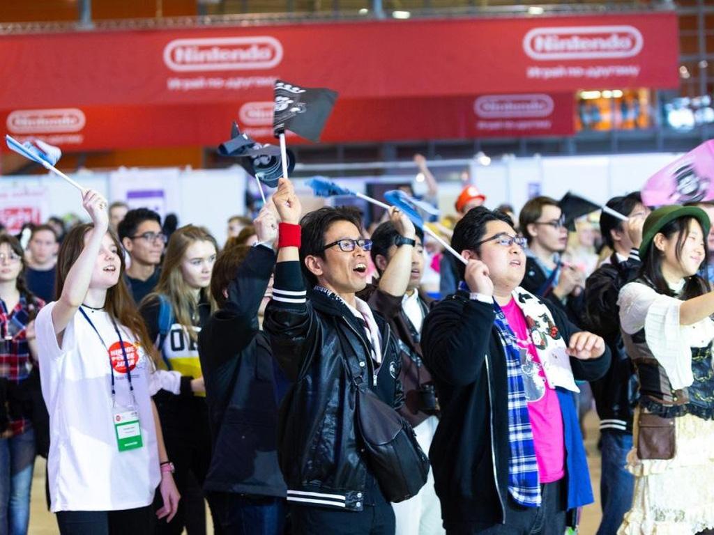 ВДНХ ежегодный фестиваль  Hinode Power Japan