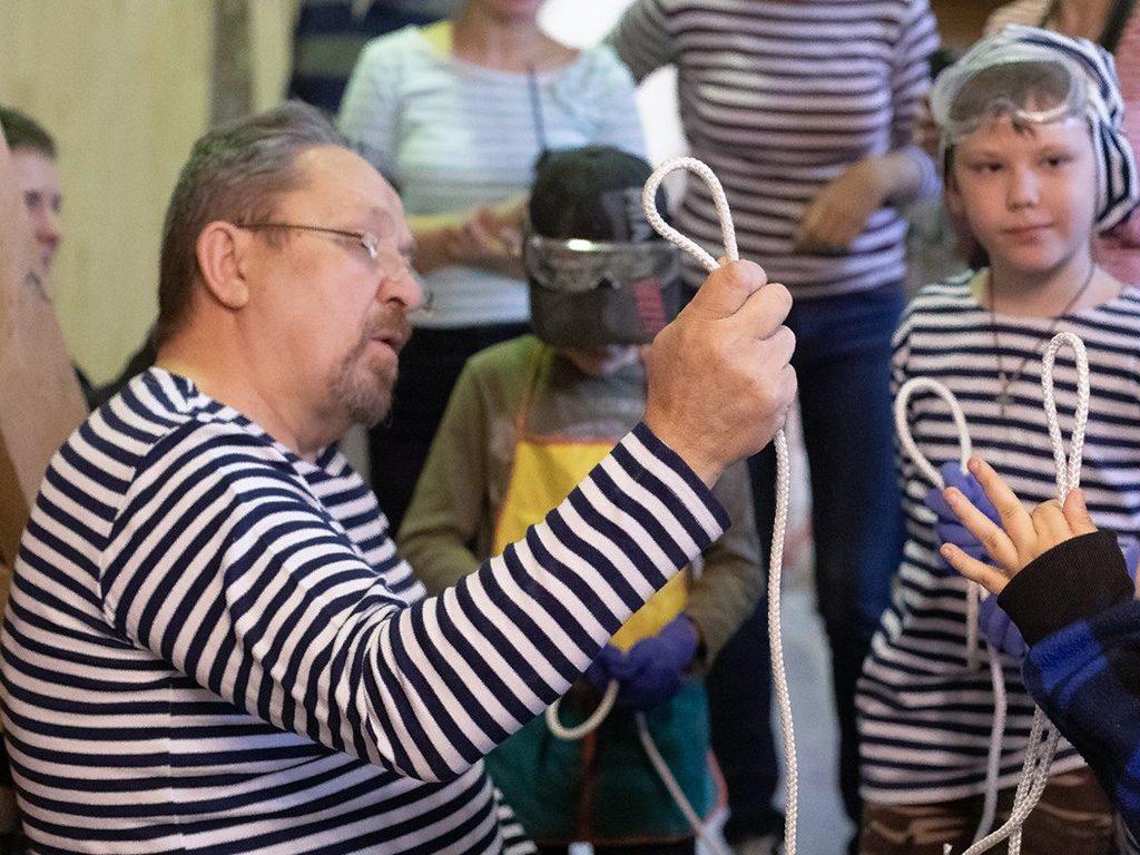 Клуб юных мореходов
