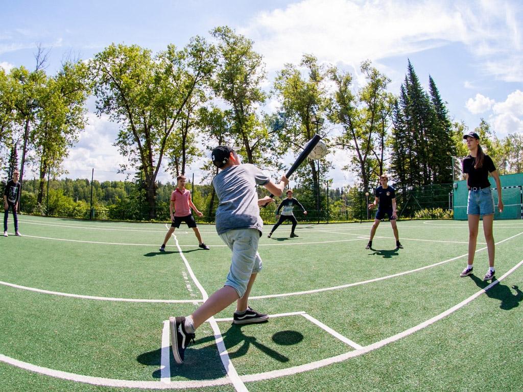 Игры на свежем воздухе Лагерь Евроклуб