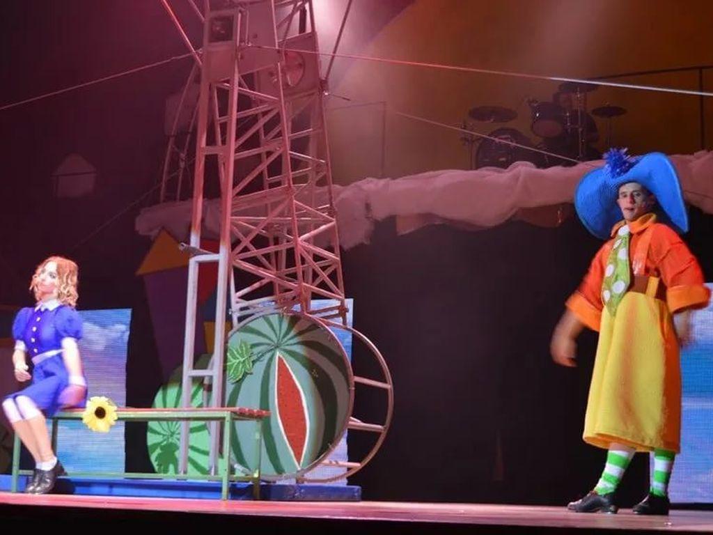 Детское цирковое шоу Незнайка и его друзья в Цирке чудес