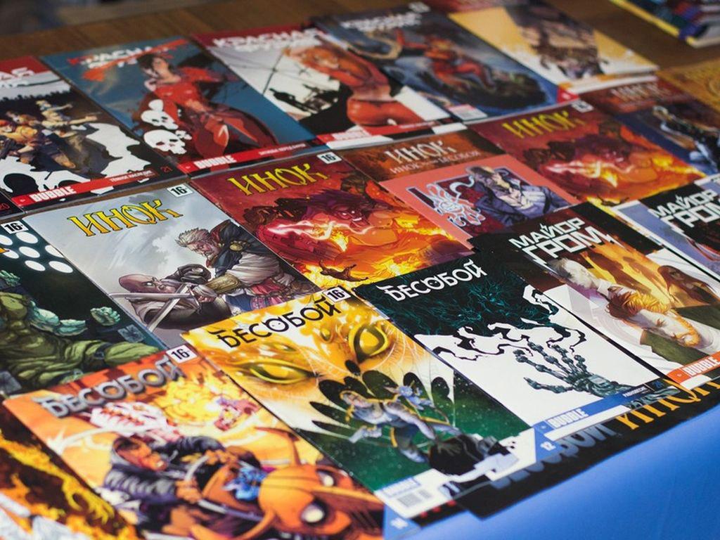 Фестиваль комиксов, кино, игр и косплея BUBBLE FEST