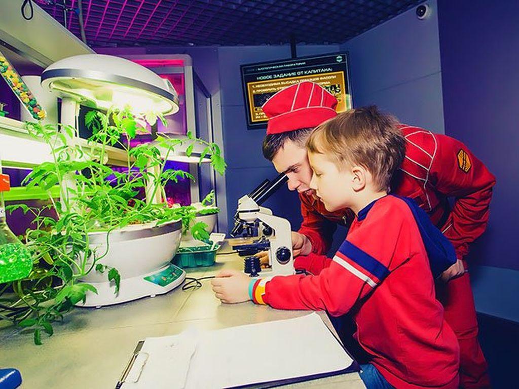 Летний детский лагерь на Станции Марс