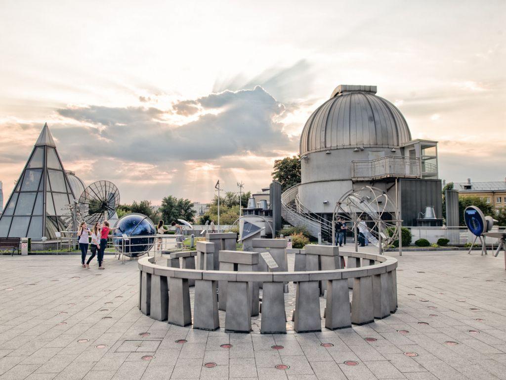 Открытие астрономического сезона в Парке неба