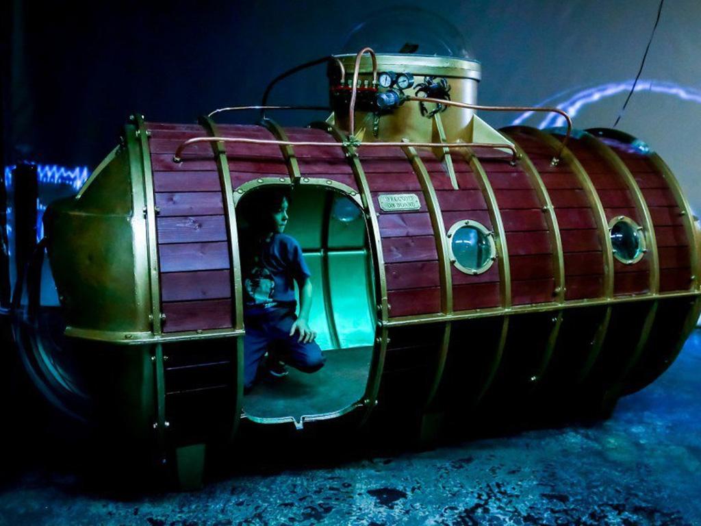 Выставка-приключение Невероятные миры Жюля Верна