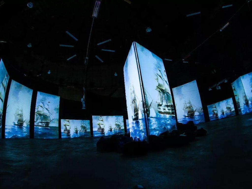 Мультимедийная выставка Рерих и Айвазовский - Ожившие полотна