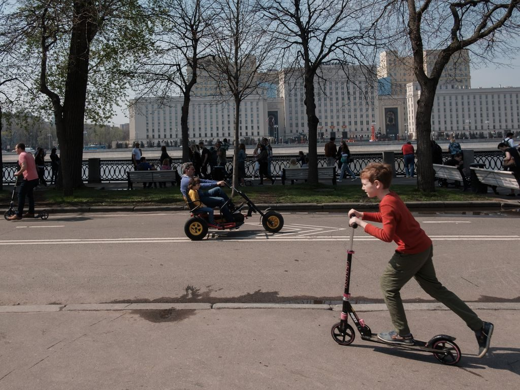 сезон проката в парке Горького