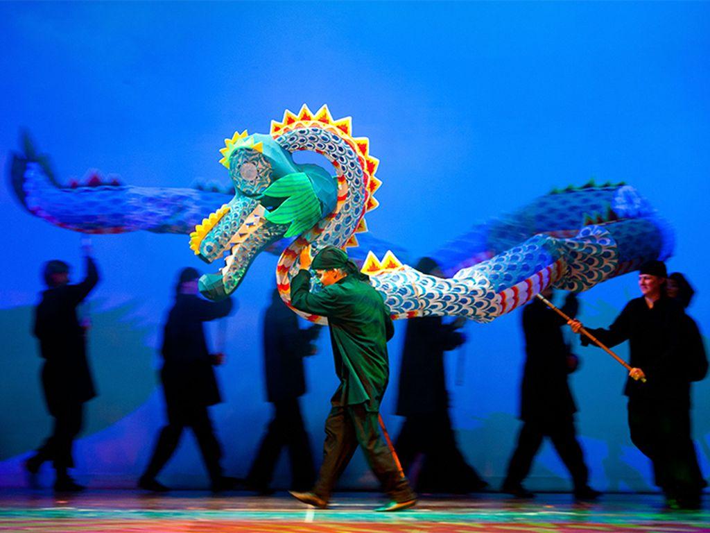 Спектакль Большое путешествие драконы, демоны, герои в Театре кукол им. С. В. Образцова