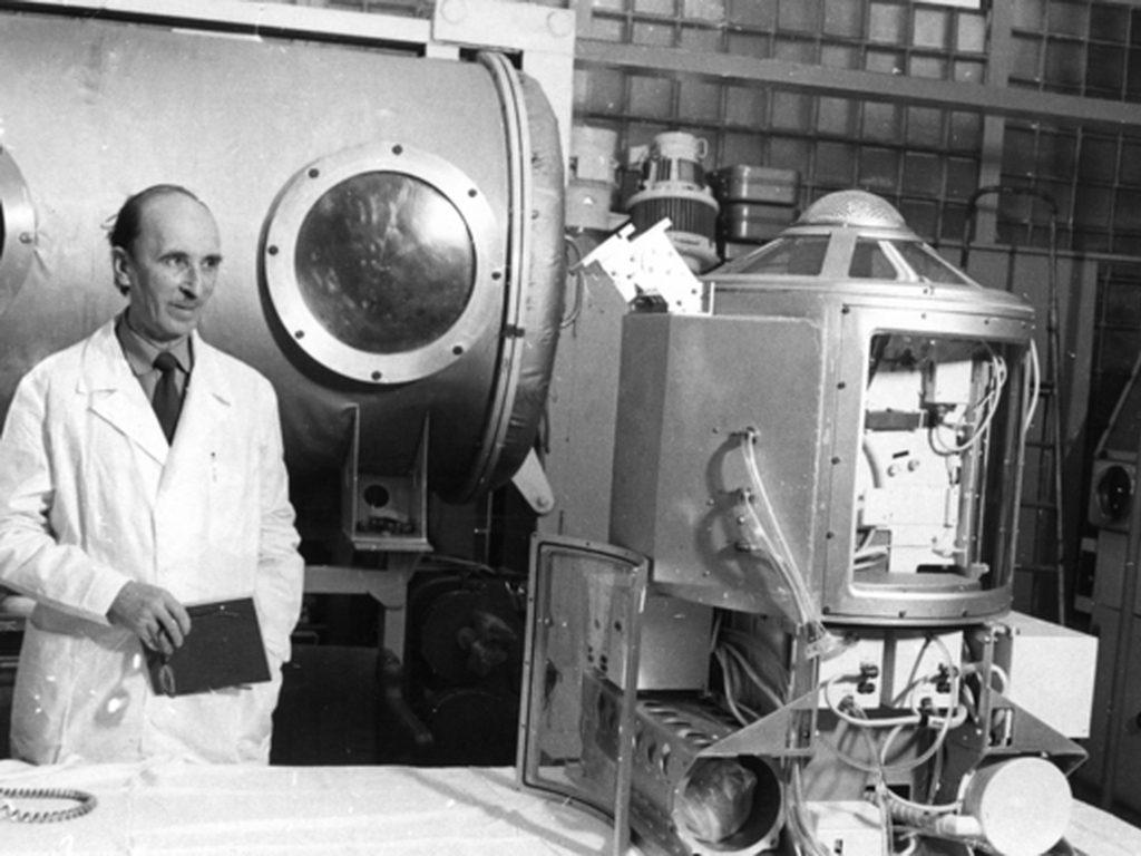 Выставка Олег Газенко в Музее космонавтики