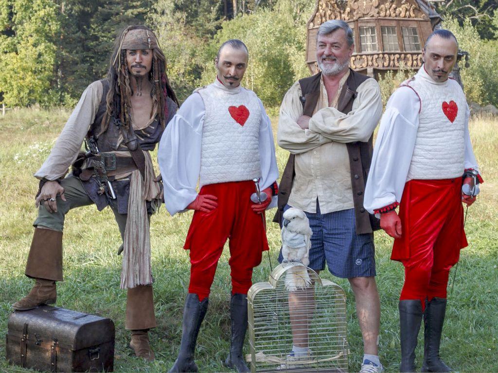 Большое пиратское шоу Тайна Пилигрима