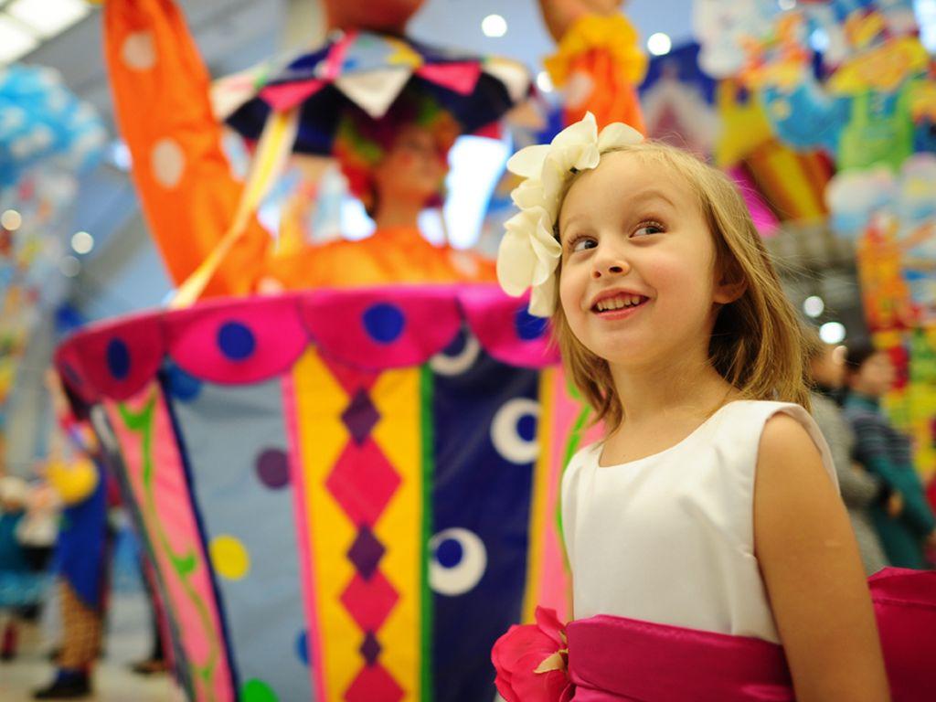 День защиты детей на Цветном бульваре