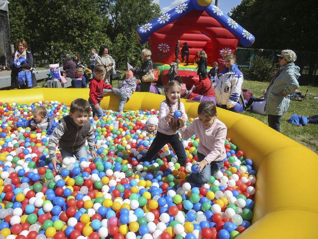День защиты детей в Московском Дворце пионеров