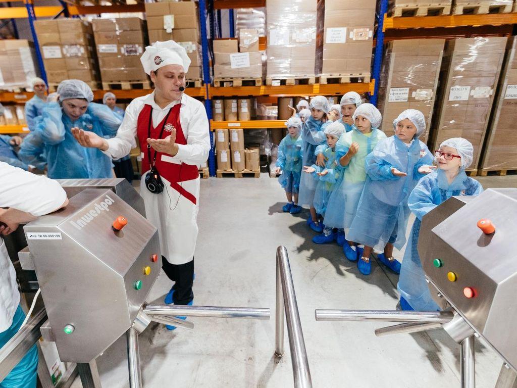Экскурсия по настоящему производству фабрика мороженого