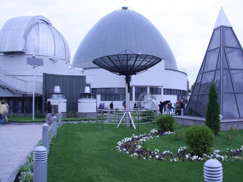 Парк небо Московский Планетарий