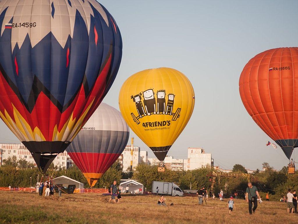 Фестиваль воздухоплавания Небо: теория и практика 2019
