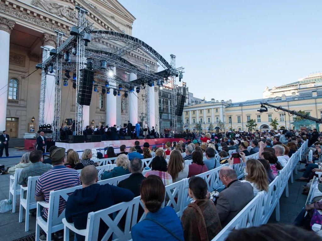 Мероприятия на Театральной площади