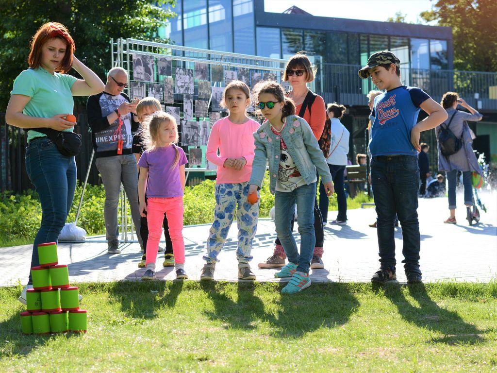 День защиты детей в Детском парке им. Прямикова