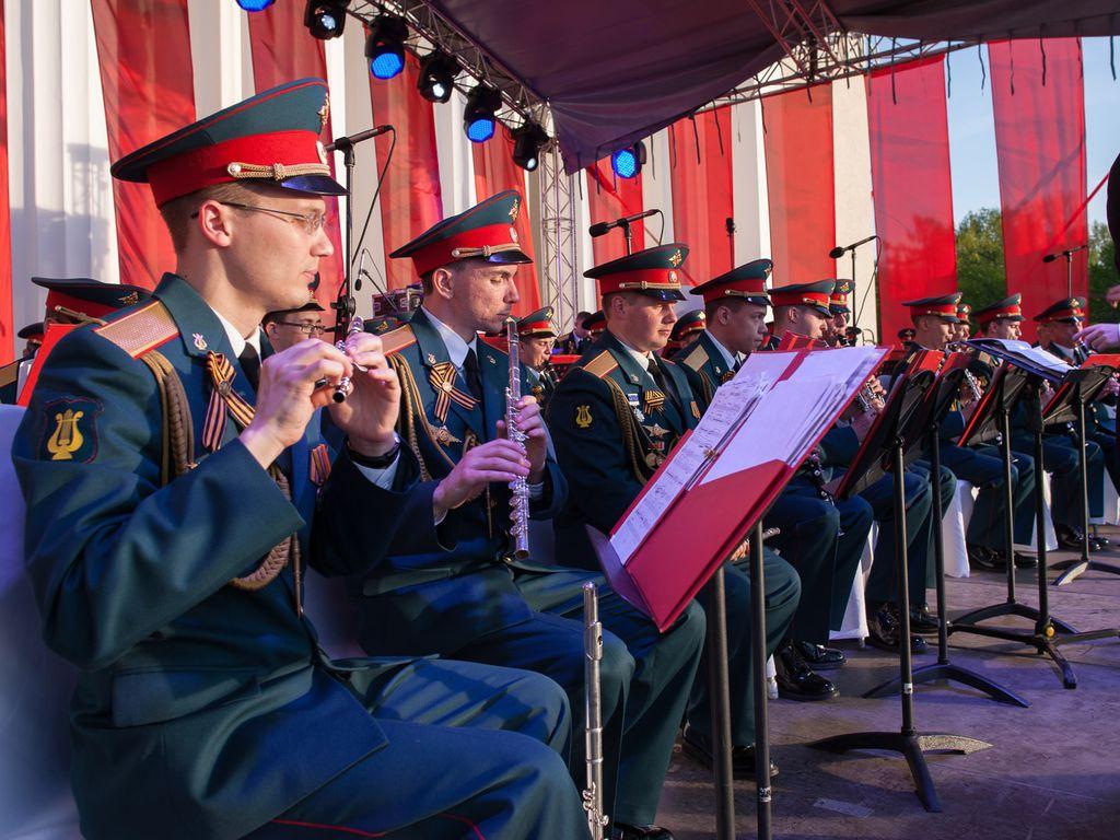 Концерт на ВДХ в честь Великой Победы