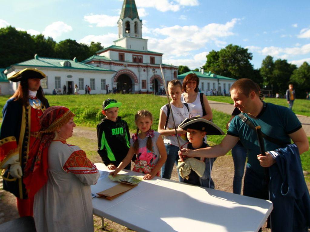 Квест в музее-заповеднике Коломенское