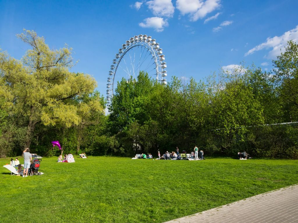 День России в Измайловском Парке и Сиреневом саду