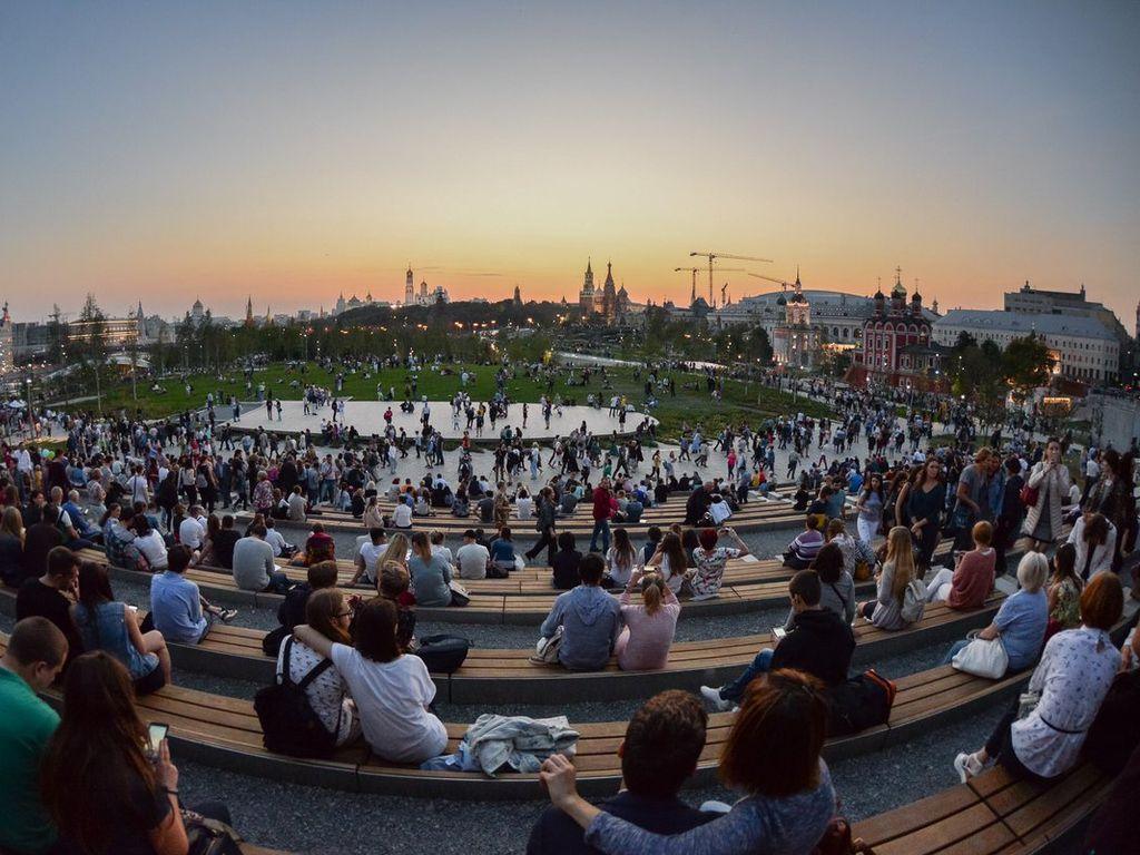 Концерт в День России в Зарядье