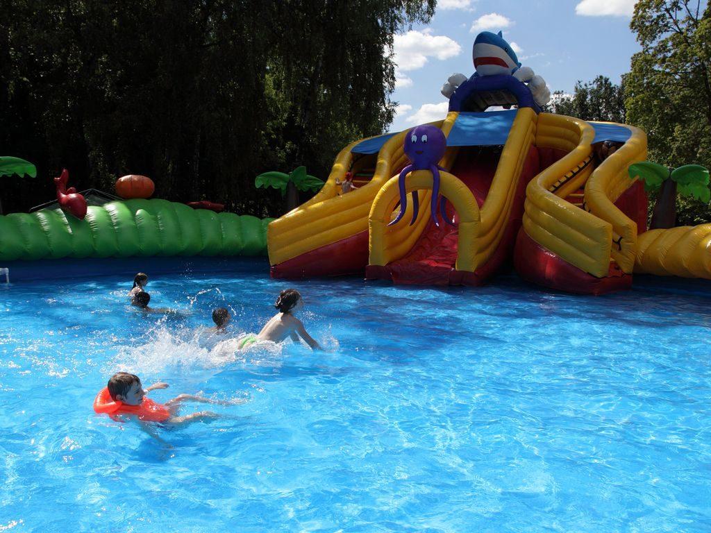 Детский мини-аквапарк в Измайловском парке