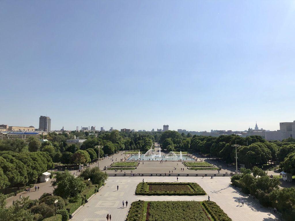 День России в Парке Горького