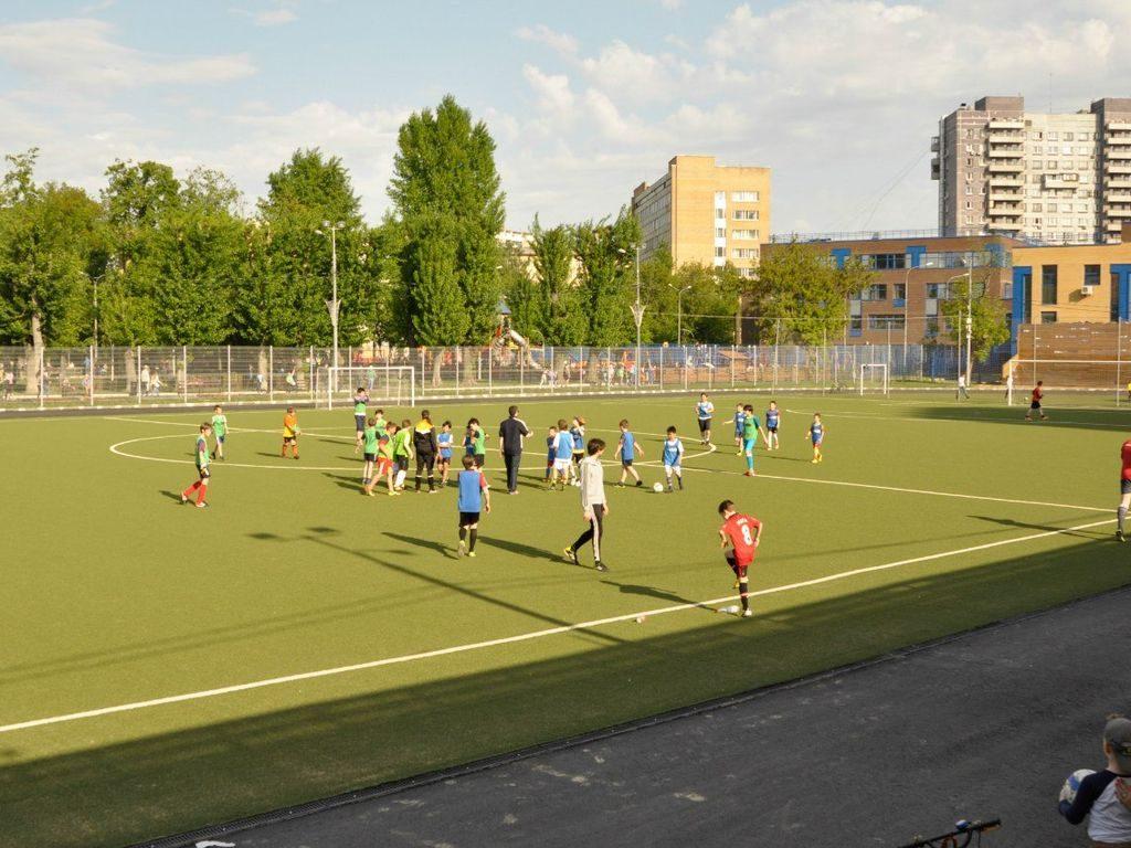 Футбол в Таганском парке