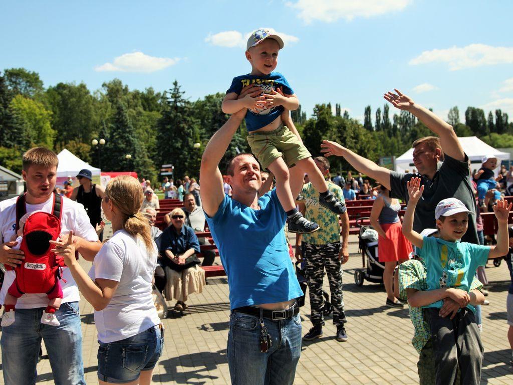 Фестиваль молодых семей #простосчастье