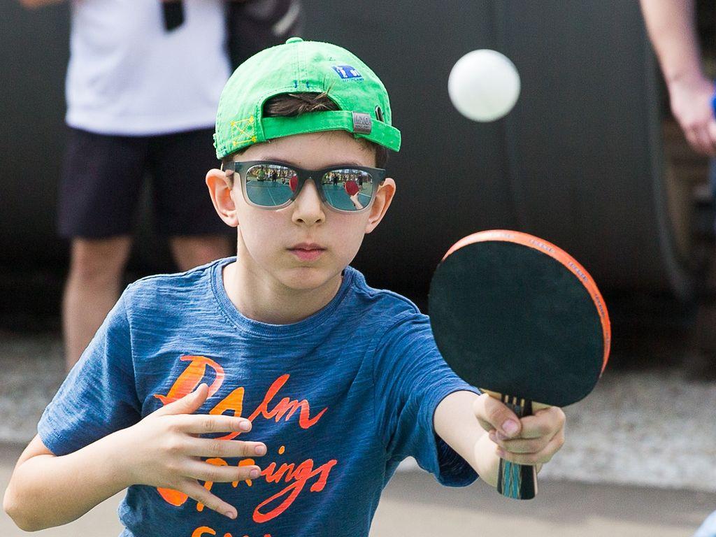 Игры в настольный теннис На ВДНХ