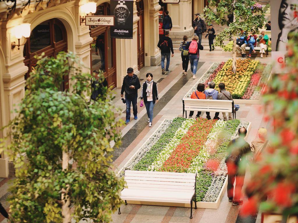 Фестиваль цветов в ГУМе; Афиша на 20-21 июля