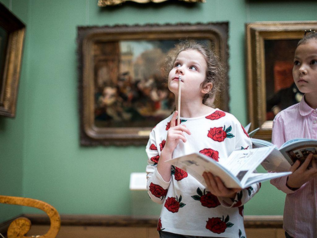 Квест в Третьяковской галерее: Афиша для детей на на 6-7 июля