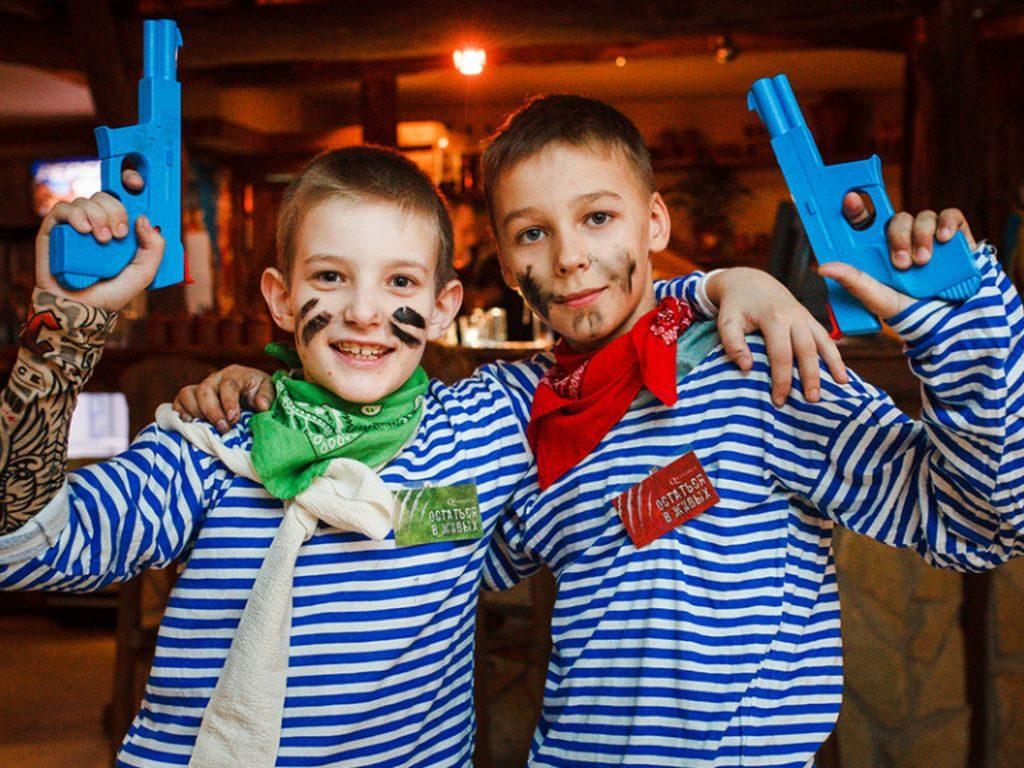 Квест для детей в Москве Где-то на диком западе