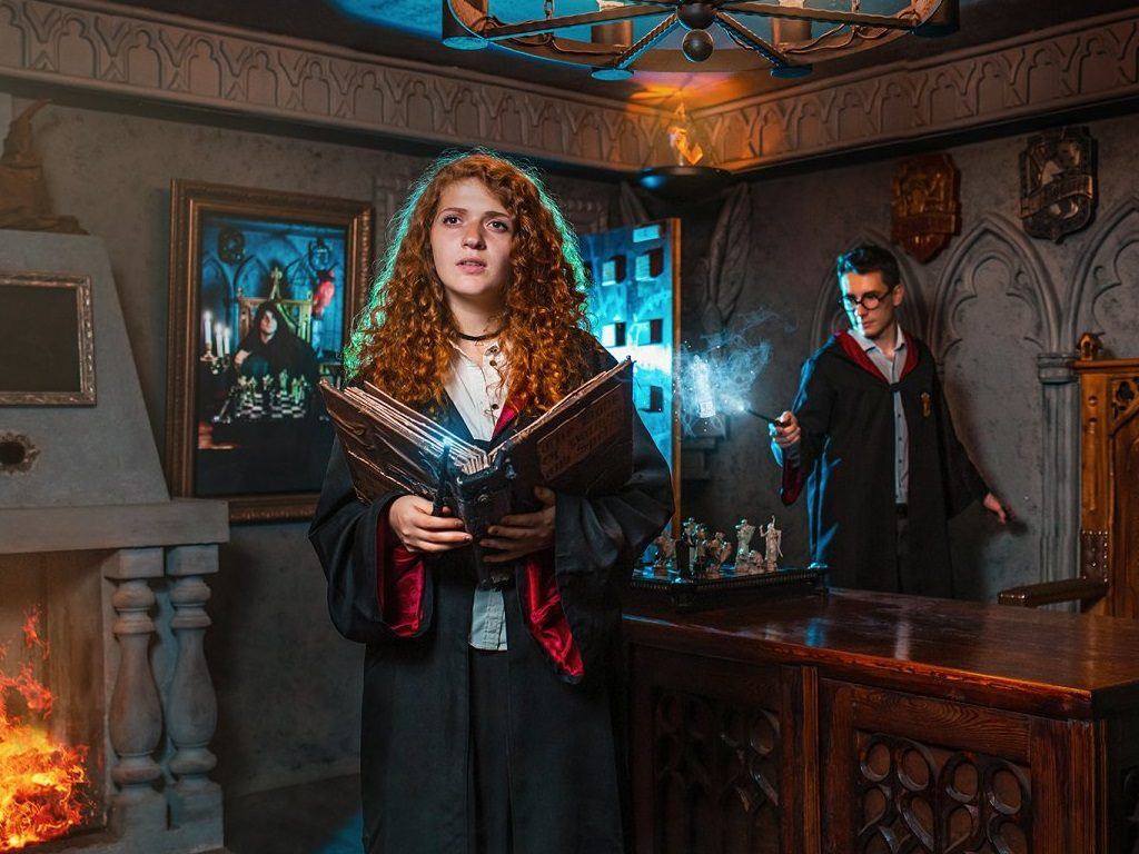 Квест Гарри Поттер: Школа чародейства и волшебства
