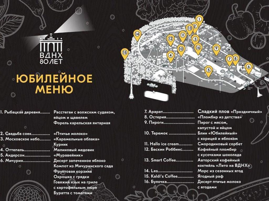 Фестиваль Гастрономическое лето на ВДНХ