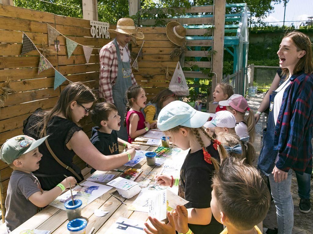 Образовательные лагеря на Городской ферме