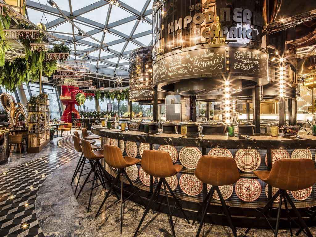 Кафе и рестораны в Зарядье