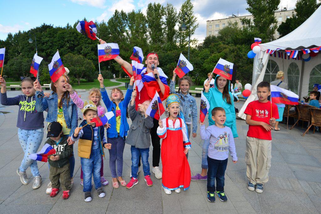 День флага в Измайловском парке
