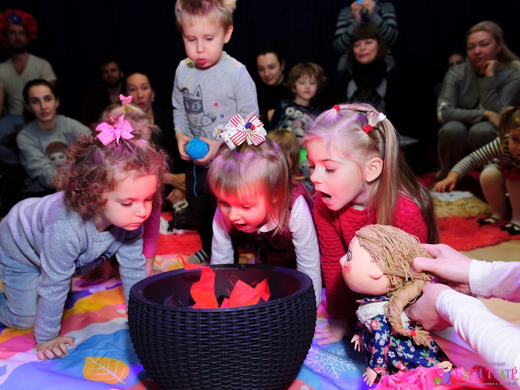 Спектакль — 12 месяцев в театре для малышей