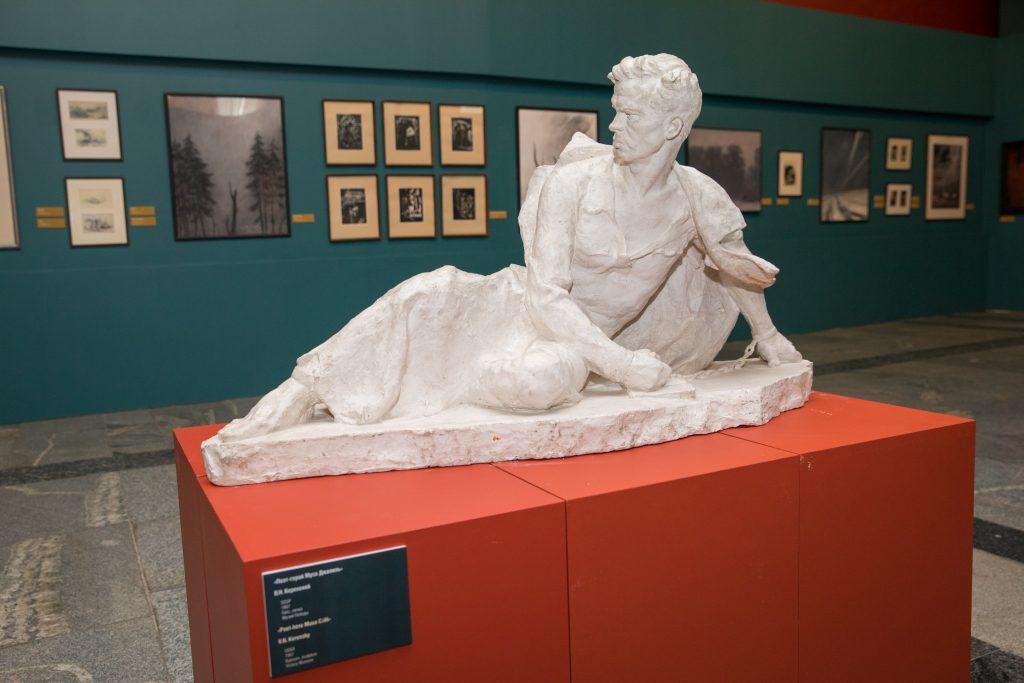 Скульптура Мусы Джалиля