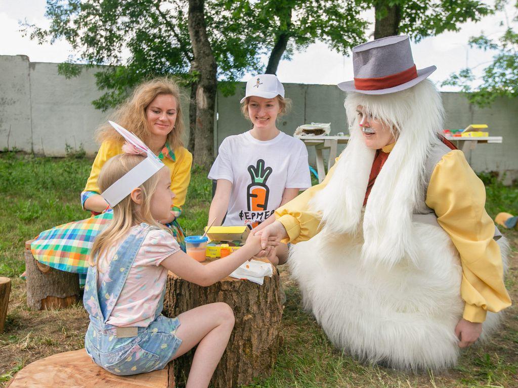 Фестиваль ушастых развлечений Зайцы на Ферме