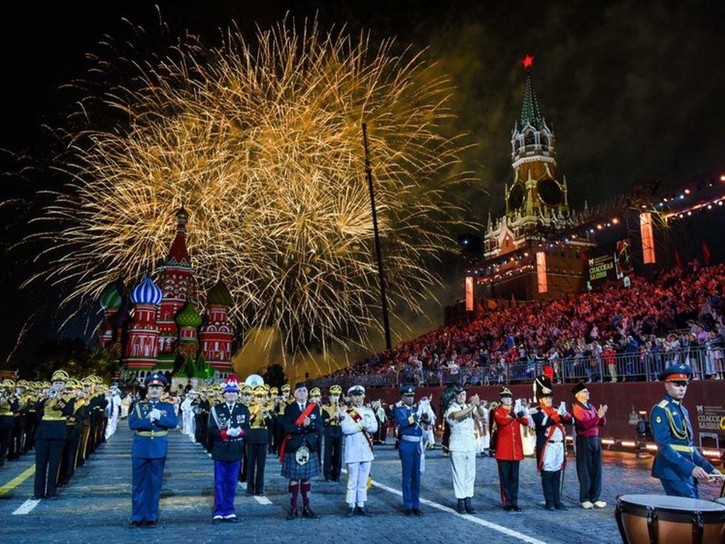 Военно-музыкальный фестиваль Спасская башня